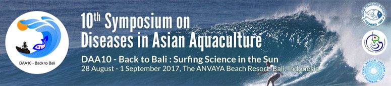 10th Symposium on Diseases in Asian Aquaculture (DAA10)